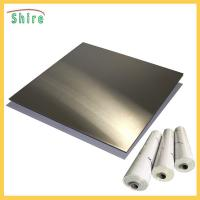 Buy cheap Metal Wire Drawing Board Pvc Cling Film , Self Adhesive Pvc Film Roll Anti Dust from wholesalers