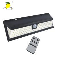 Buy cheap Bright LED Solar Rechargeable Light Outdoor Motion Sensor Light 8-10 Hours Charge Time from wholesalers