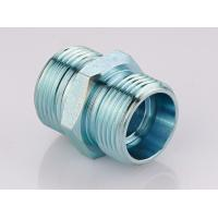 Buy cheap Metric Straight Thread Fittings , Male Bsp Threaded Pipe Fittings 1CB / 1DB from wholesalers