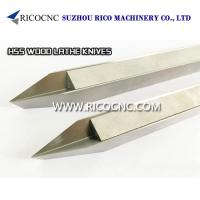 Buy cheap High Speed Steels V Cutter HSS Woodturning Tools Wood Lathe Knife CNC Turning Tools from wholesalers