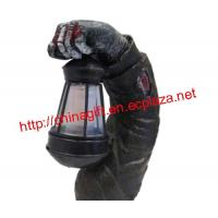 China ZOMBIE ARM HALLOWEEN DECORATION WITH SOLAR POWERED LANTERN on sale