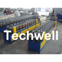 Buy cheap 0.4 - 1.0mm Thickness 0 - 15m/min Speed C Stud Roll Forming Machine For Light Steel Keel from wholesalers