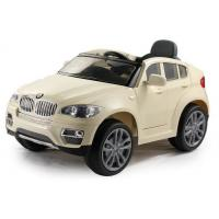 Buy cheap WDJJ258 Licensed Car BMW X6 Kids Electric Car With Remote Control, Baby Present Ride On Toy Car, With Music from wholesalers