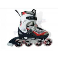 Buy cheap PU Wheels Inline Ice Skating Shoes for Kids , Ice Hockey Skates with ABEC-7 Bearing from wholesalers