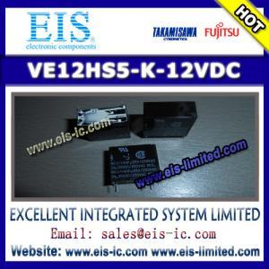 Buy cheap VE12HS5-K-12VDC - TAKAMISAWA/FUJITSU - POWER RELAY 12V 5A 1CO THT product