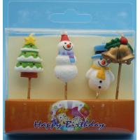 Buy cheap Paraffin Wax Special Shaped Birthday Candles For Christmas Decor Odorless from wholesalers