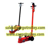 Buy cheap Air hydraulic jack applied on lifting up low clearance vehicles from wholesalers