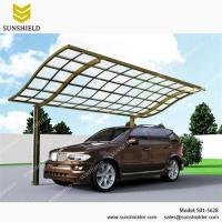 Buy cheap Prefab Aluminum Patio Cover with Polycarbonate Roof/aluminum patio cover/patio awnings/terrace cover/polycarbonate patio from wholesalers