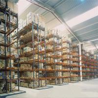 Buy cheap Steel Selective Pallet Racking Systems / Warehouse Pallet Racks Customized Color from wholesalers