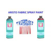 Buy cheap Non toxic UV Resistance Fabric Spray Paint for Clothes , Waterproof Liquid Paint Spray from wholesalers