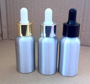 Buy cheap 20ml,30ml,50ml,80ml,100ml dropper aluminium bottles for essential oil product