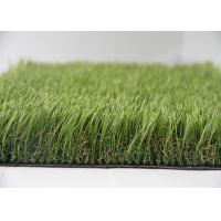 Buy cheap Durable Anti-UV Outdoor Synthetic Turf Residential Synthetic Grass 5 - 7 Year Warranty product