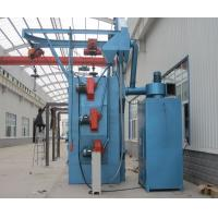 Buy cheap Spinner Hanger Shot Blasting Machines , Blast Cleaning Machine Compact Structure from wholesalers