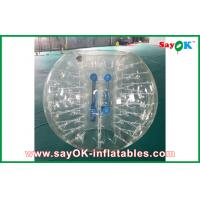 Buy cheap 1.2m Transparent Inflatable Sports Games Human Inflatable Bumper Bubble Ball for Kids from wholesalers