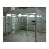 Buy cheap Aluminum Positive Pressure Soft Wall Clean Room Vertical Laminar Flow Booth from wholesalers