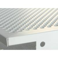 Buy cheap 1.0mm Thickness Paint Coated Clip In Ceiling Tiles Sound Absorbing Perforated Plate from wholesalers