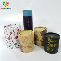 Buy cheap Wax Bottle Paper Box Packaging Cosmetics Push Up Tube Customized Recycled Materials from wholesalers