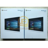 Buy cheap Full Retaill Version For Win 10 Home 32/64 Bit USB 3.0 & OEM License Retail Activation Online from wholesalers