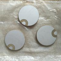 Buy cheap 30x2MM Piezo Ceramic Plate For Ultrasonic Sensors / Vibration Equipment from wholesalers
