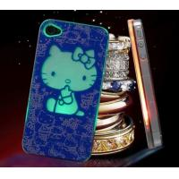 Buy cheap PC Flashing iPhone cases with lovely hello kitty flash light from wholesalers