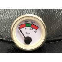 Buy cheap Back Mounting Fire Extinguisher Gauge / Manometer For Powder Fire Extinguishers product
