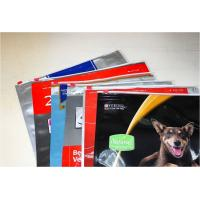 Buy cheap Eco Friendly Plastic Zipper Slider Bags Dry Pet Food Packaging product