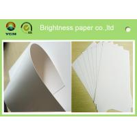 Buy cheap White Wood Pulp Jewellery Box Cardboard , One Side Coated Gift Box Paper from wholesalers