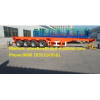 Buy cheap FUWA Axles 40 Feet Container Carrying Semi Trailer Trucks With JOST Landing Leg Q345 Material from wholesalers