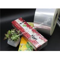 Buy cheap Cigarette BOPP Packaging Holographic Film Great Transparency Luster Moisture from wholesalers