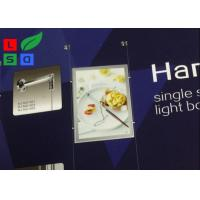 Buy cheap Magnetic LED Backlit Light Box A3 A4 Graphic Size With Cable Hanging CE Approved from wholesalers