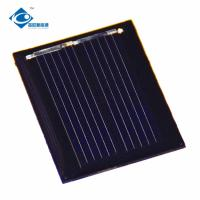 Buy cheap 0.5V cheap poly silicon solar cell price ZW-3025 mini high efficiency solar panel from wholesalers