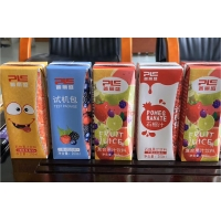 Buy cheap Sealing Strip 308GSM 7 Color 200ml Fruit Juice Pouch Bags from wholesalers