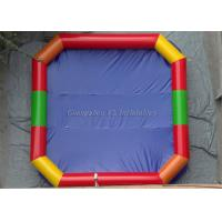 Buy cheap Colorful Notching Inflatable Aqua Park Water Ball Pool Outdoor Inflatable Swimming Pool For Amusement Park from wholesalers