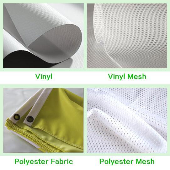 material of custom banners