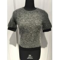 Buy cheap Women Slim Mohair Loose Knit Sweater With Elastic Strap At Bottom And Cuff OEM / ODM from wholesalers