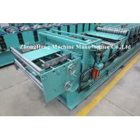 Buy cheap IBR Roofing Sheet Roll Forming Machine Sheet Metal Rollforming Systems 4kw 3ph from wholesalers