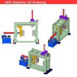 apg clamping machine for apg process apg epoxy resin clamping machine ,apg equipment ,apg hydraulic molding machine