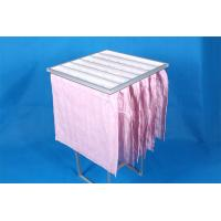 Buy cheap High Efficiency F7 Pocket Air Filter Pink Dust Collector Filter Bags Without Clapboard from wholesalers