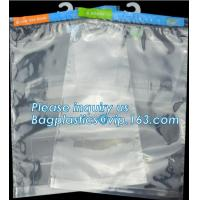 Buy cheap Hanger Plastic Hook Bag for Packaging on Festivals,Hanger PVC bed sheet packaging bag with buttons,Stationery Set Transp from wholesalers