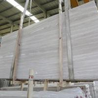 Buy cheap Natural white wooden marble cut to size Chinese white serpeggiante veins tiles slabs white wooden marble from wholesalers