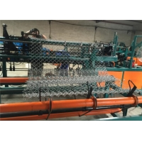 Buy cheap 3-6M Width Chain Link 150*150mm Wire Mesh Machine from wholesalers