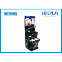 Buy cheap Glossy Lamination Retail Cardboard Display Shelves With 3 Tiers from wholesalers