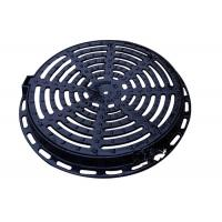 Buy cheap 24 Ductile Round Cast Iron Drain Covers Sand Casting Apply To EN124 DIA from wholesalers