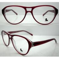 Buy cheap Cool Ladies Retro Large Eyeglasses Frames , Acetate Eyewear Frame product
