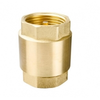 Buy cheap NPT 20 Bar Brass Vertical Spring Threaded Check Valve from wholesalers
