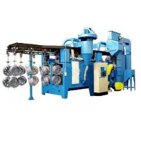Buy cheap Cycle Chain Type Hanger Type Shot Blasting Machine Steel Structure Parts Cleaning from wholesalers