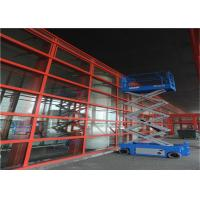 Buy cheap Ladder Scaffolding Scissor Lift Table , Elevated Work Platform Table Easy Maintenance from wholesalers
