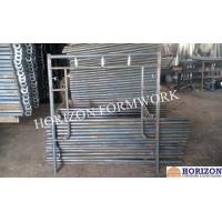 Buy cheap Stable Frame Scaffolding System , Q235 Steel Scaffolding Frame Type 1524x1700mm from wholesalers