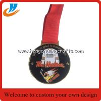 Buy cheap Football events medals custom,custom metal fashion design souvenir medals from wholesalers