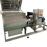 Buy cheap SUS304 pesticide powder open type double shaft paddle mixer from wholesalers